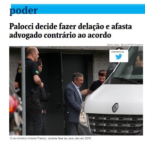 Lava Jato exigiu que Palocci substituísse seu advogado