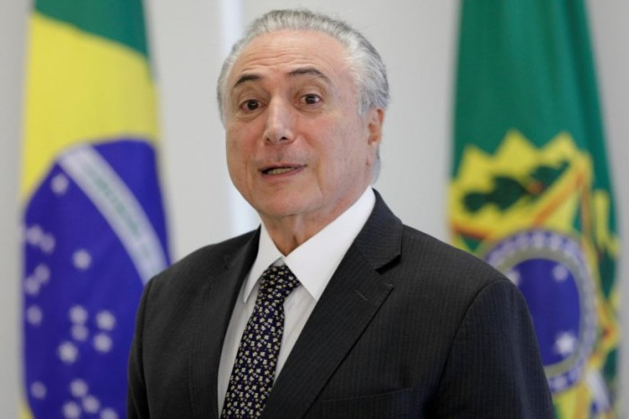 """Michel Temer: """"O Brasil não parou e não vai parar"""""""