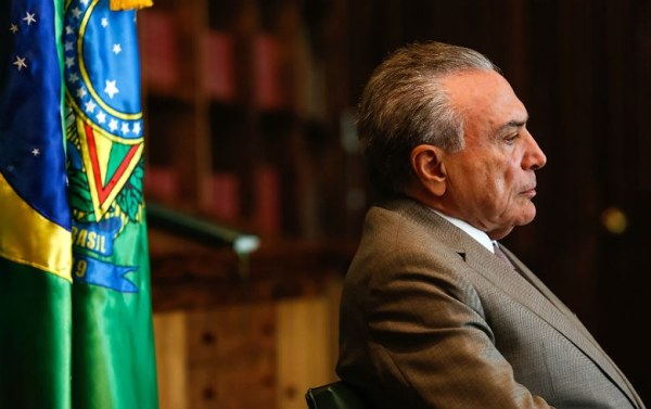 Temer busca sobrevida após ser atingido por grave denúncia. Foto: Marcos Corrêa/PR