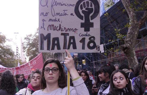 """Fotogaleria """"Nem uma a menos"""" Buenos Aires: Nem patriarcado nem capitalismo"""
