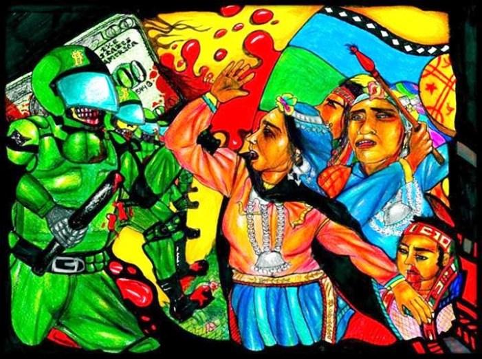 Manifesto internacional contra a violência contra o povo Mapuche