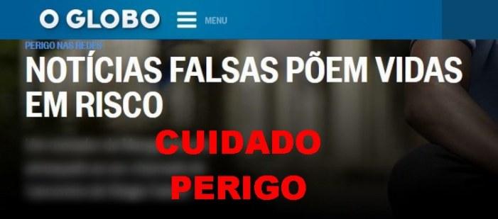 Pesquisa mostra campeões na divulgação de fake news da semana: G1 e O Globo. Por que não me surpreendo?