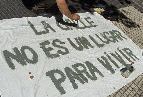 Cerca de seis mil pessoas vivem em situação de rua em Buenos Aires