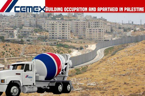Campanha do BDS solicita a fábrica mexicana Cemex que se retire da Palestina