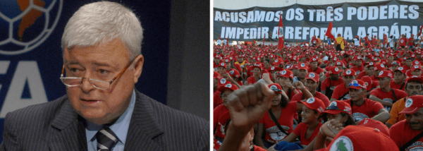 MST ocupa fazenda de Ricardo Teixeira e denuncia promiscuidade e corrupção