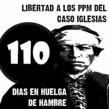 Mapuches no Chile: 110 dias em greve de fome