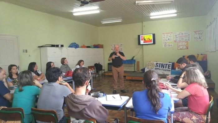 Regionais do SINTE recebem nova etapa do Curso de Formação