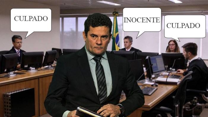 TRF4 volta a acusar Moro de condenar réu sem provas