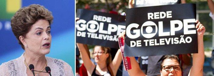 Contra Dilma, Globo se investe do papel de polícia, promotor e juiz
