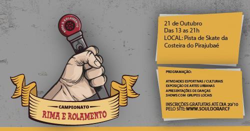 Campeonato Rima e Rolamento em Florianópolis