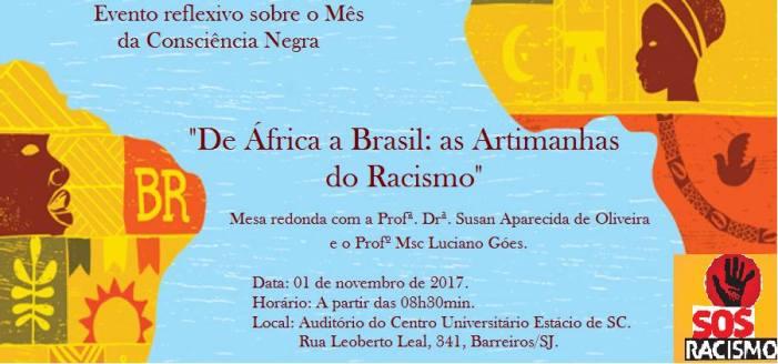Mesa Redonda – De África a Brasil: as Artimanhas do Racismo