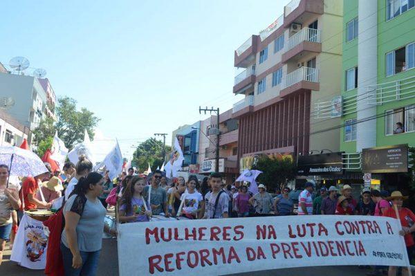 Organizações do Campo e Frente Brasil Popular realizam jornada de lutas em Santa Catarina nesta quarta-feira, 18