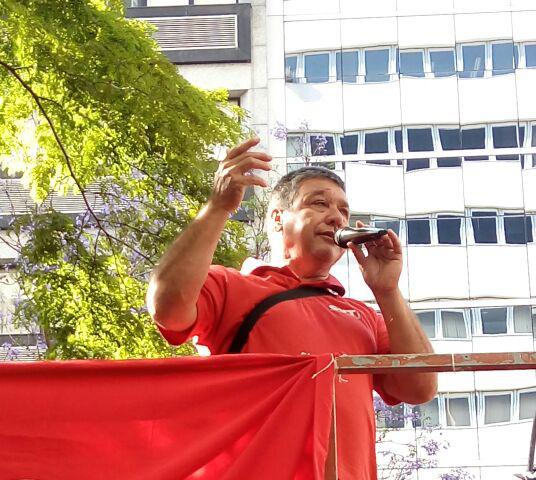 Fetraf Paraná protesta contra crise do leite na Jornada de Lutas em Curitiba