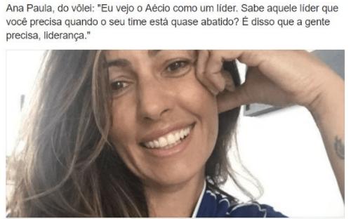Lembrar para não repetir: Ana Paula do Vôlei e a vergonha indigente do velho eleitor de Aécio
