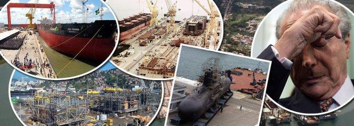 MP do governo Temer pode por fim à indústria naval