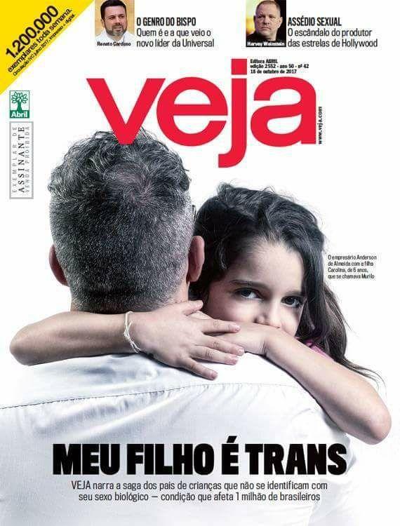 Quando todos resolvem falar de liberdade sexual, até a Veja e a Globo são chamadas de petista