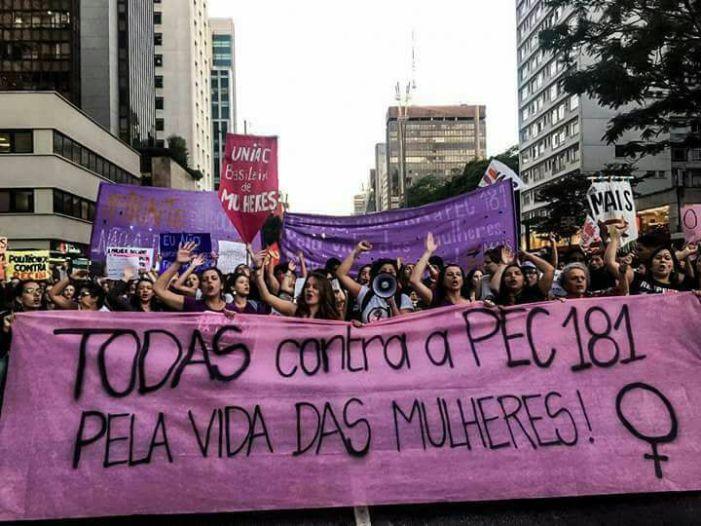 São Paulo: Vigília contra a votação da PEC 181