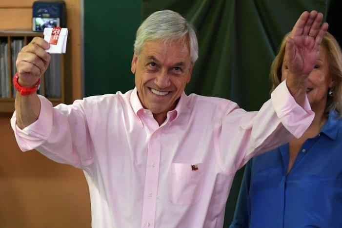 Conservador Piñera é eleito mais uma vez presidente do Chile