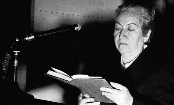 Gabriela Mistral profetizou na década de 30 o correcionismo acadêmico