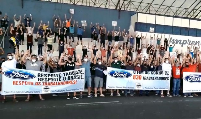 sindicato de metalúrgicos contra a ford