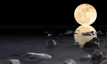 La luna lleva un polisón de nardos