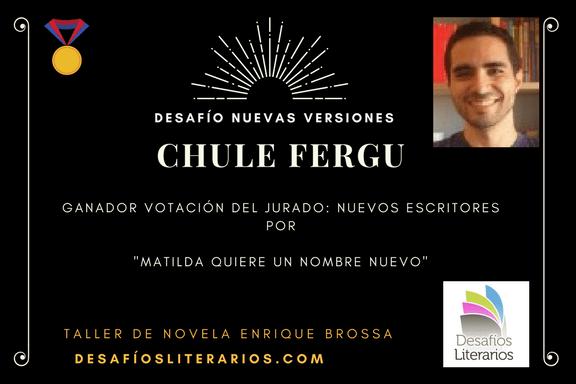Premio DESAFÍO LITERARIO «NUEVAS VERSIONES»