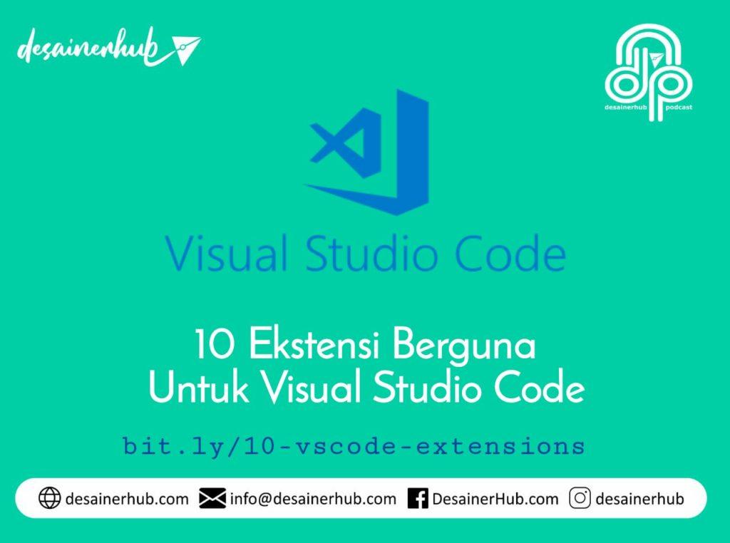 10 ekstensi visual studio code