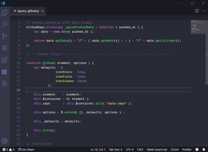 Dracula 8 Tema Terbaik Visual Studio Code