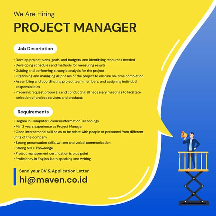 Project Manager Maven
