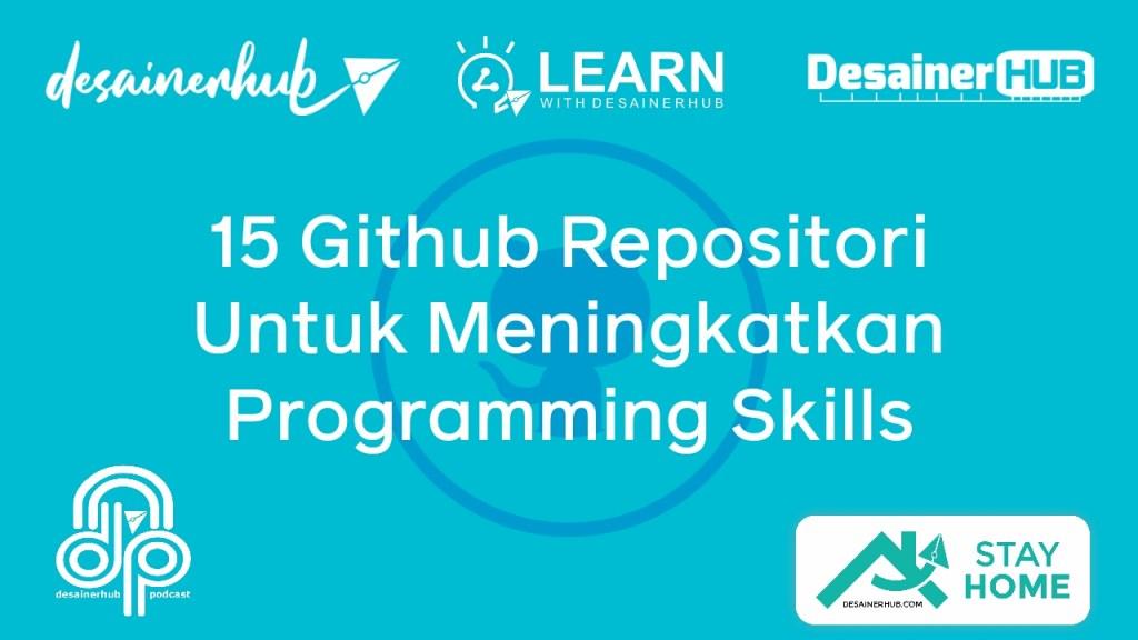 15 github repositori programming