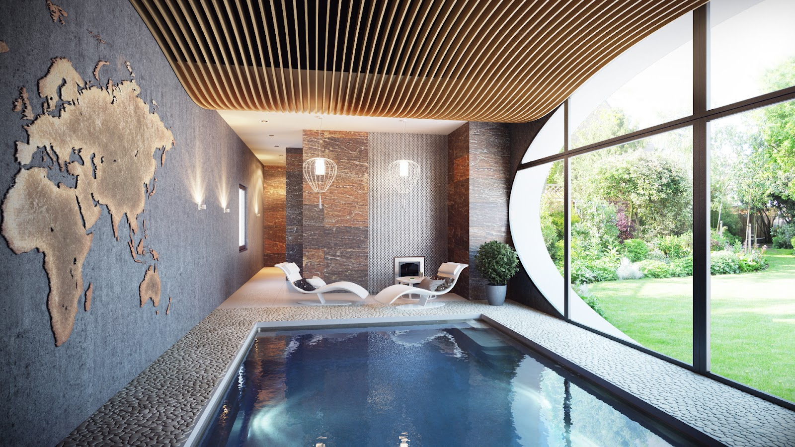 Best Inspiring Indoor Swimming Pool Design Ideas