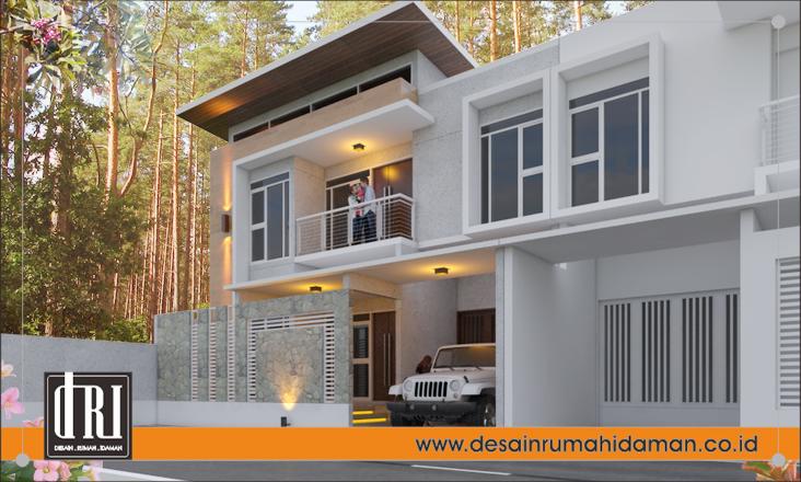 Rumah Bergaya Modern dan Minimalis di Solo, Jawa Tengah