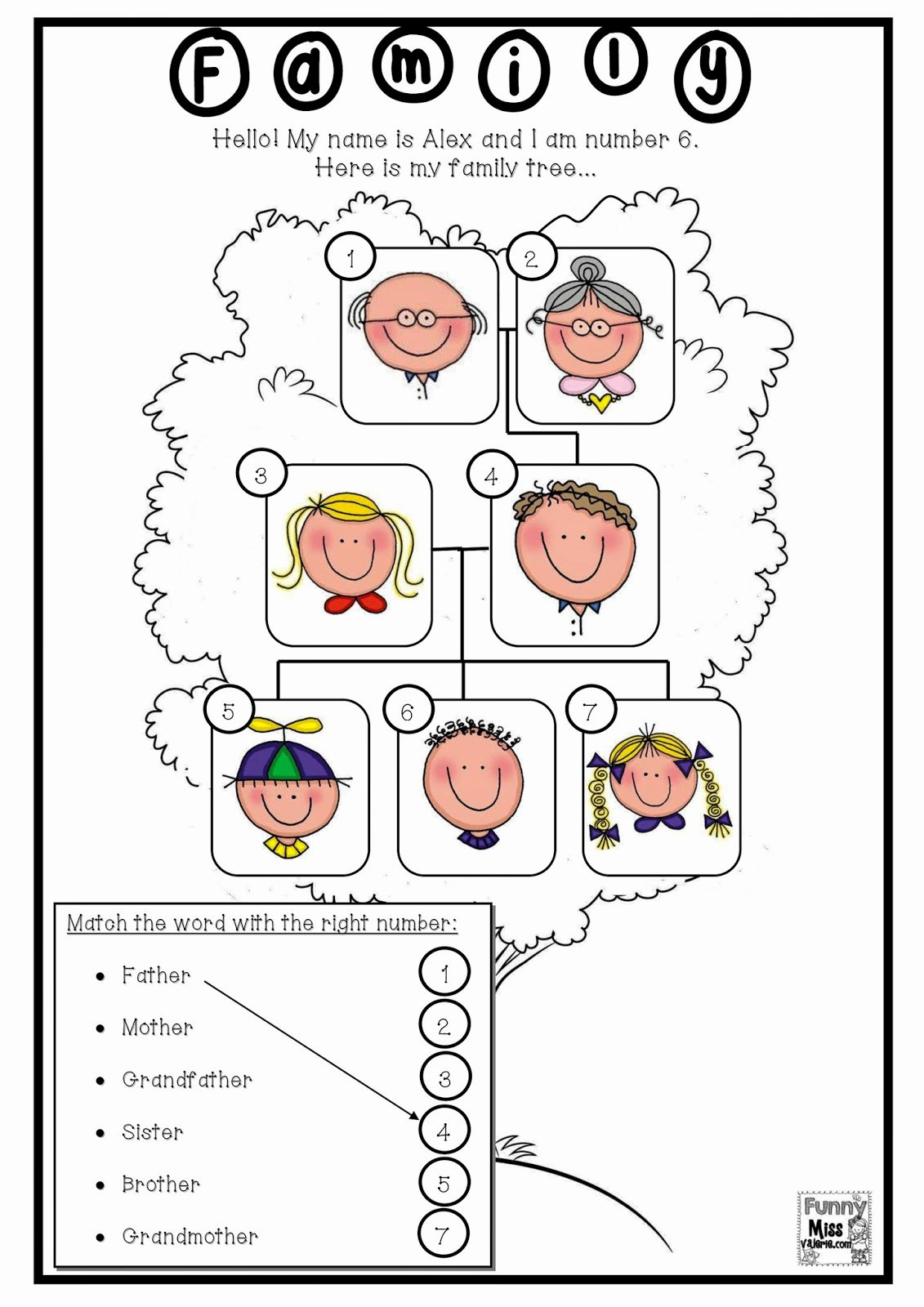 40 Family Tree Worksheet Printable