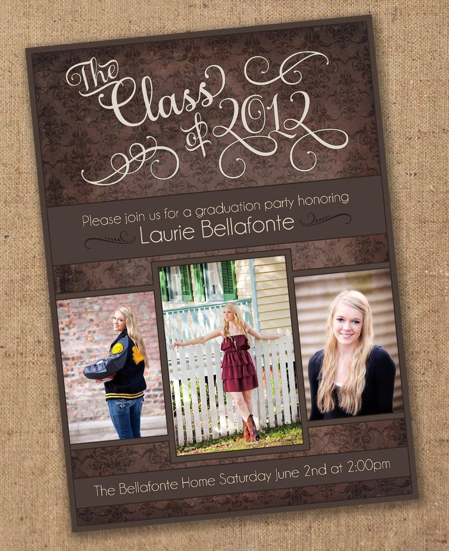 40 Free Printable Graduation Invitations