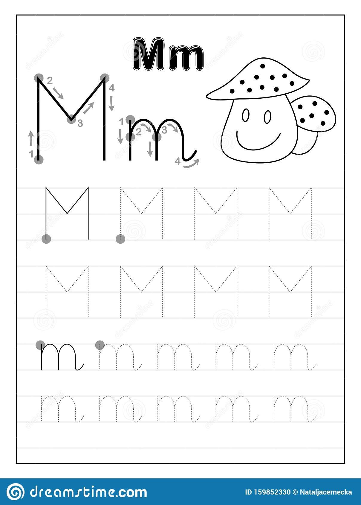 20 Letter M Worksheets Kindergarten