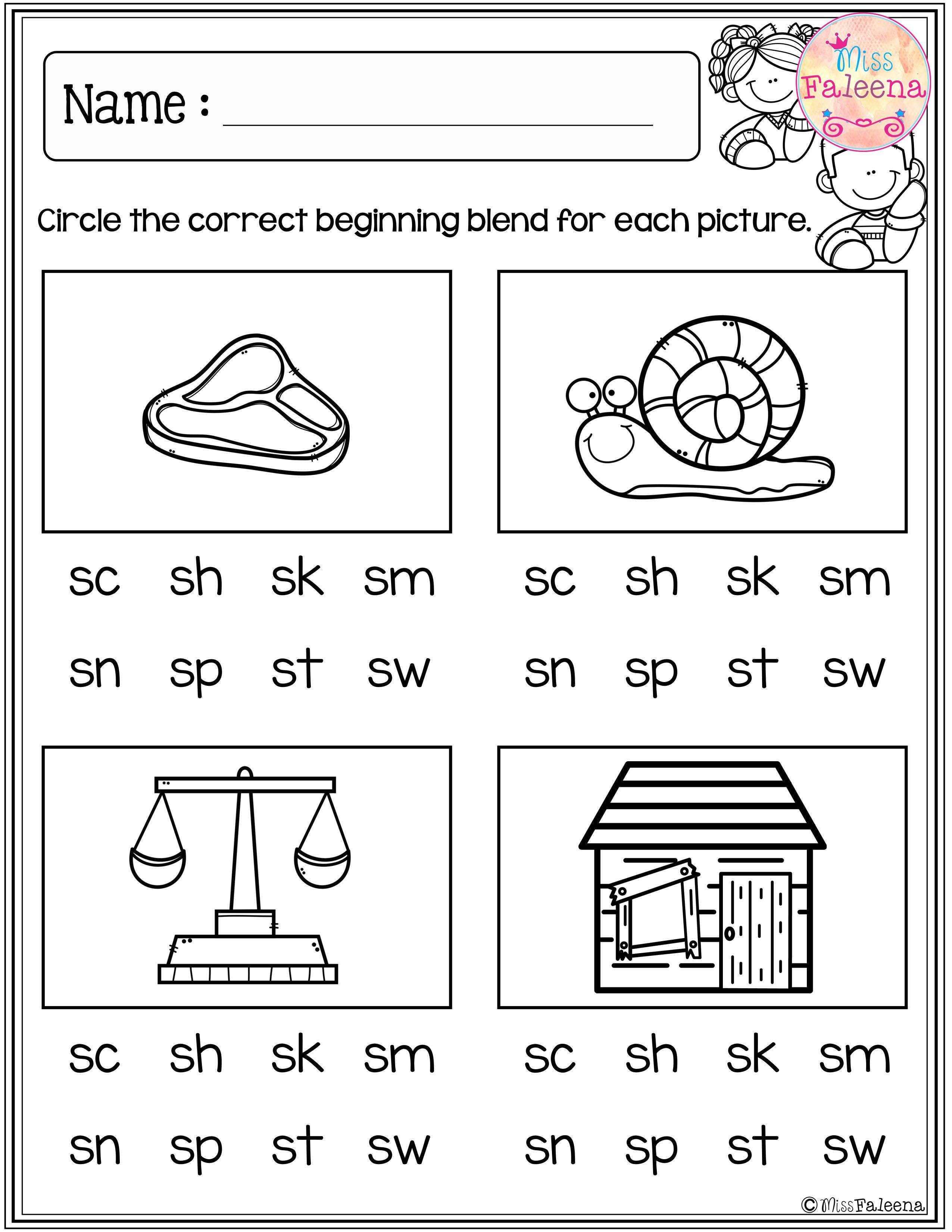 20 Morning Worksheets For Kindergarten