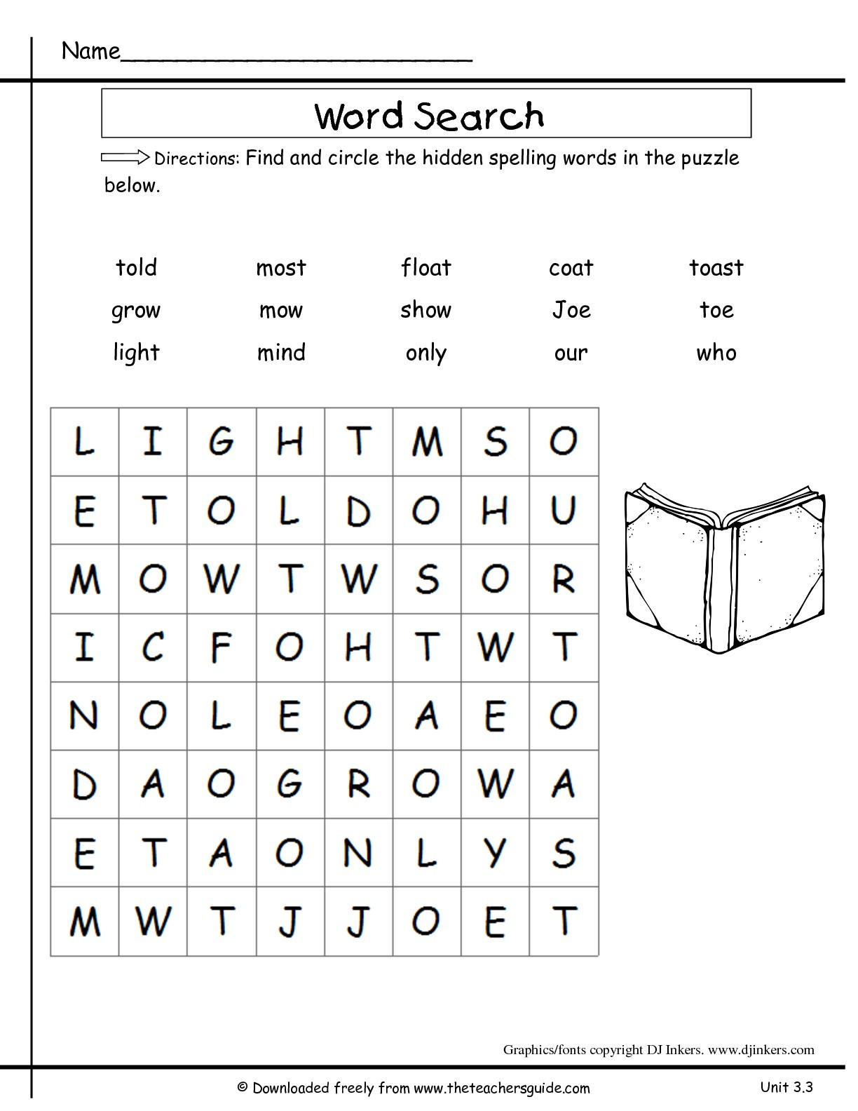 20 2nd Grade Spelling Worksheets