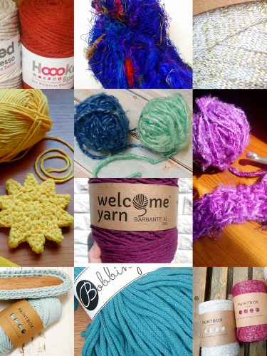 Recycled Yarn by Jan from The Crafty Therapist