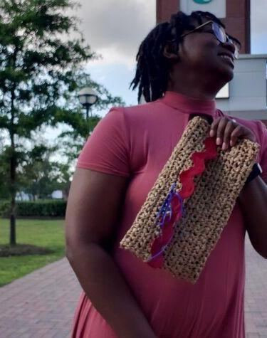 The Petion-Ville Crochet Clutch Bag