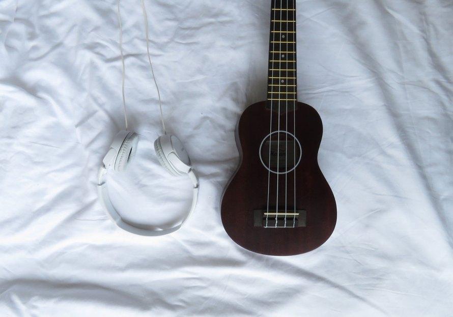 O dia que eu comprei um ukulele