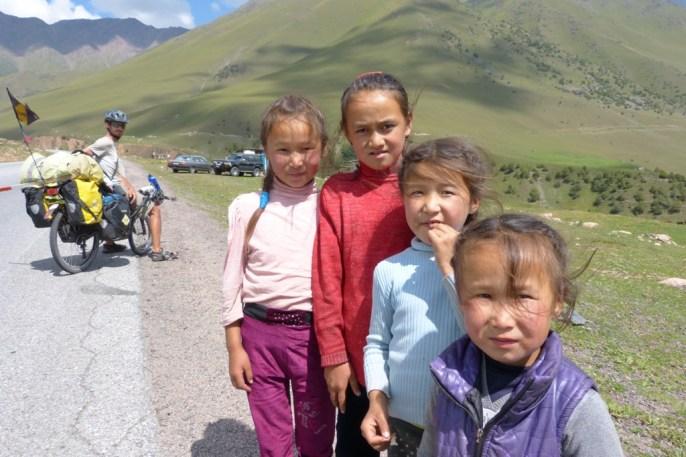 Gamins sur la route
