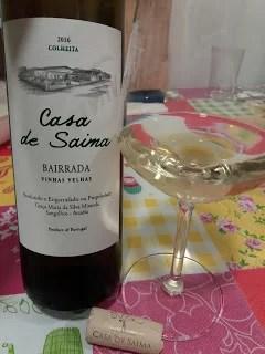 Casa de Saima vinhas velhas branco 2016