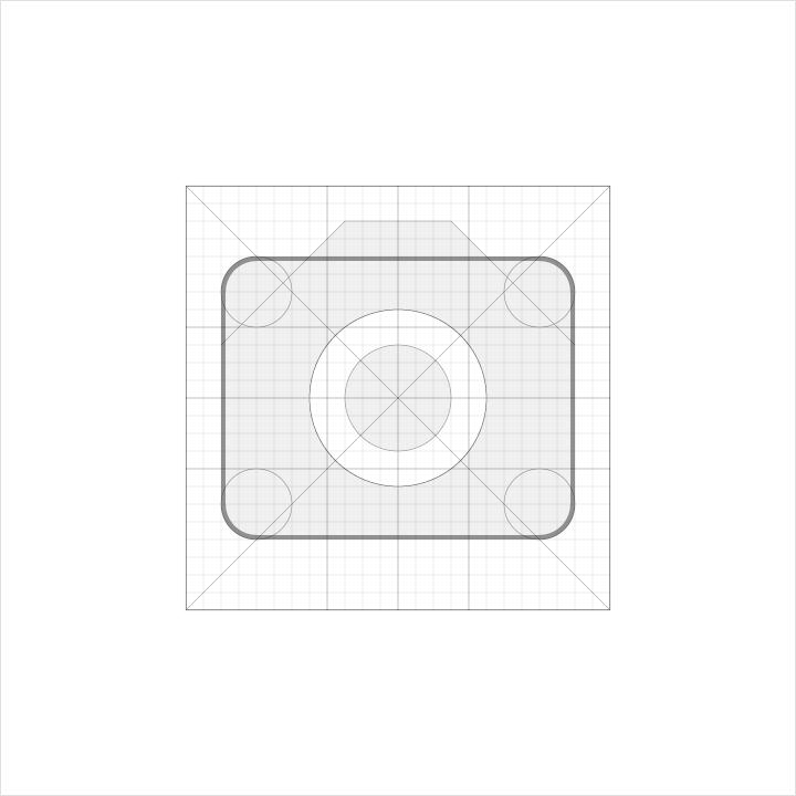 camera icon material design