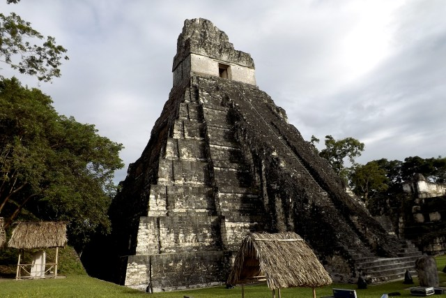 Tikal, uno de los puntos más importantes para el turismo nacional