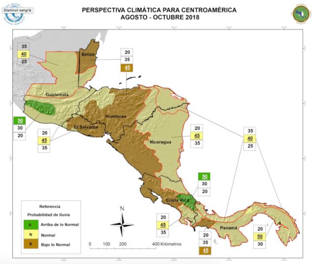 OIRSA alerta por escasa producción de granos básicos en corredor seco de Centroamérica