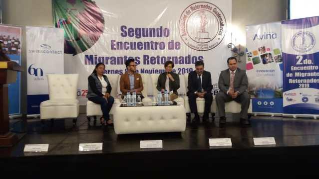 Segundo Encuentro de Migrantes Retornados: Avanzando hacia la inclusión #GuateTeIncluye