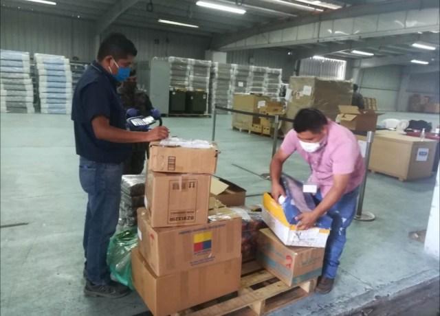 19,596 tazas de café especial de Guatemala donado al personal médico del Hospital del Parque de la Industria