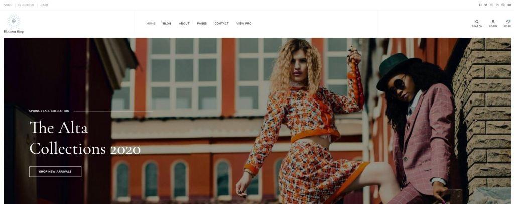 Blossom Shop soluciones de venta on-line desarrollo Web Lugo