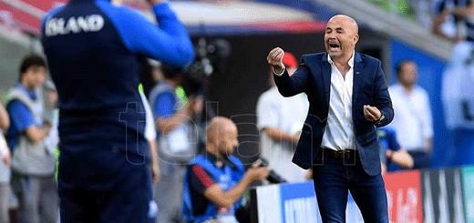 Sampaoli analiza tres cambios para el choque ante Croacia