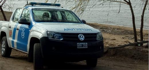 Tragedia en el Paraná a la altura de Pueblo Esther.